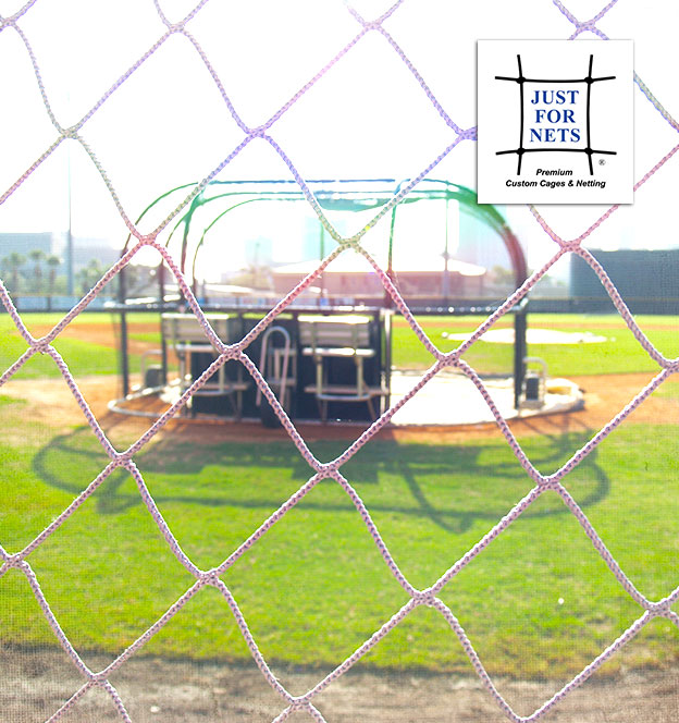 Custom and pre-made sports netting for home, schools, universities, institutions, sporting venues and professional leagues.